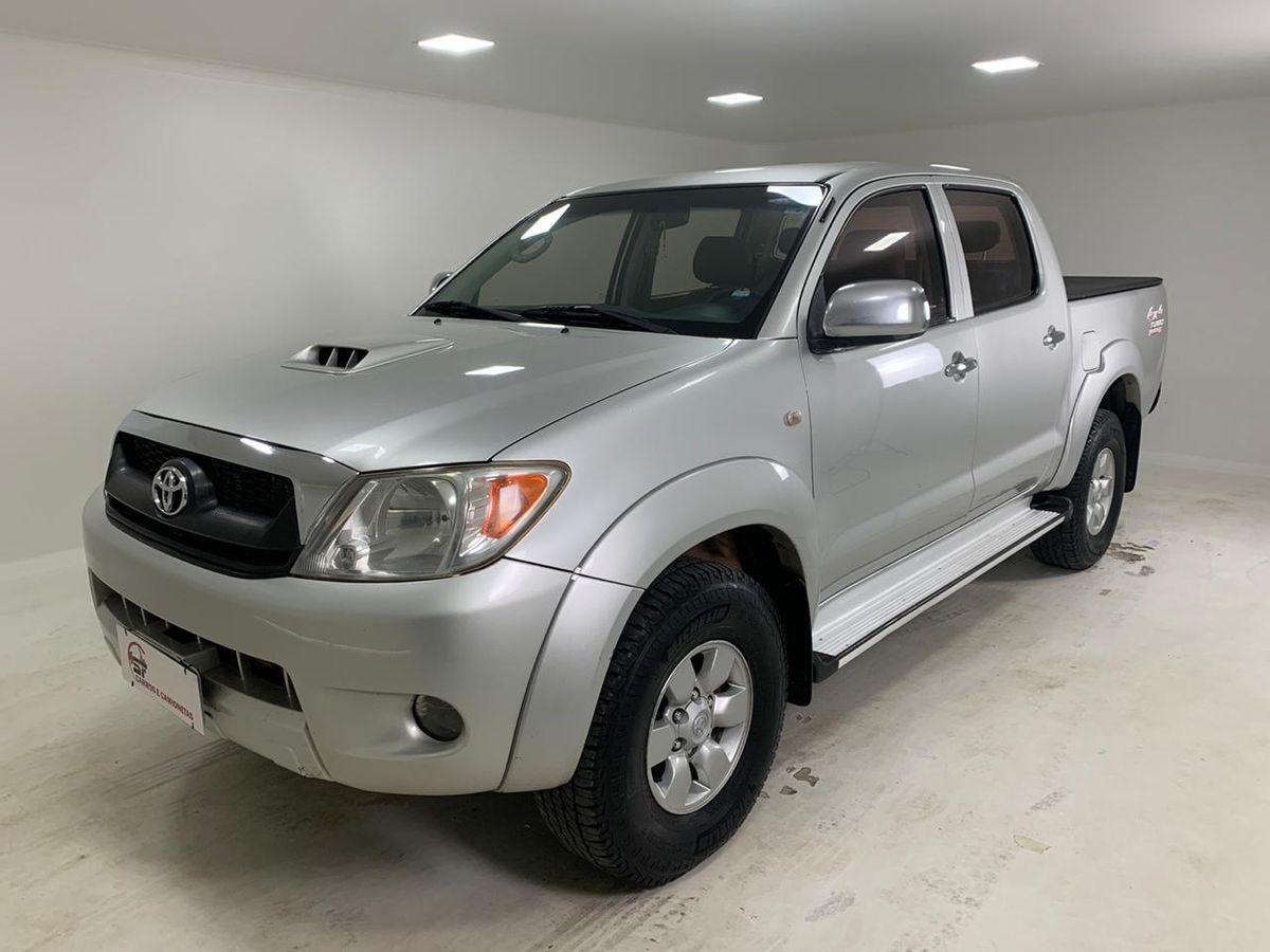 Toyota Hilux Cd Srv D4 D 4x4 3 0 Tdi Diesel Aut Diesel 4 Portas Cambio Automatico Em Campo Grande Sf Carros E Camionetas