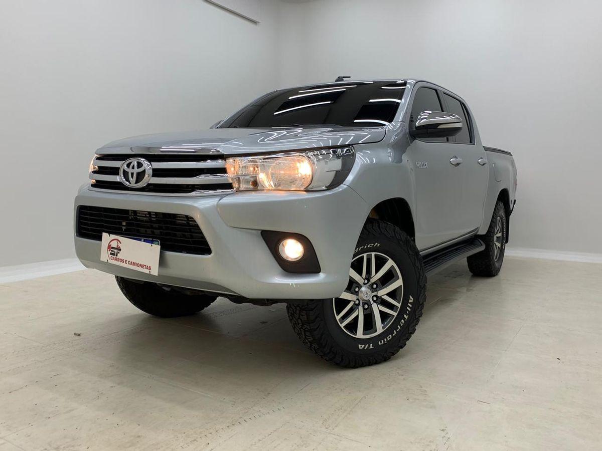 Toyota Hilux Cd Srv 4x4 2 8 Tdi Diesel Aut Diesel 4 Portas Cambio Automatico Em Campo Grande Sf Carros E Camionetas