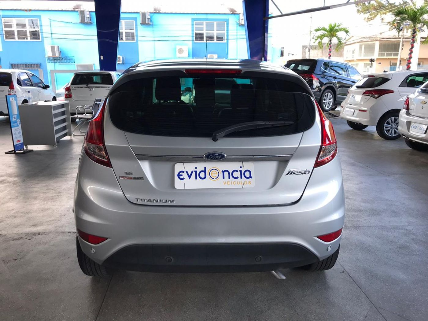 Ford Fiesta TIT./TIT.Plus 1.6 16V Flex Aut.