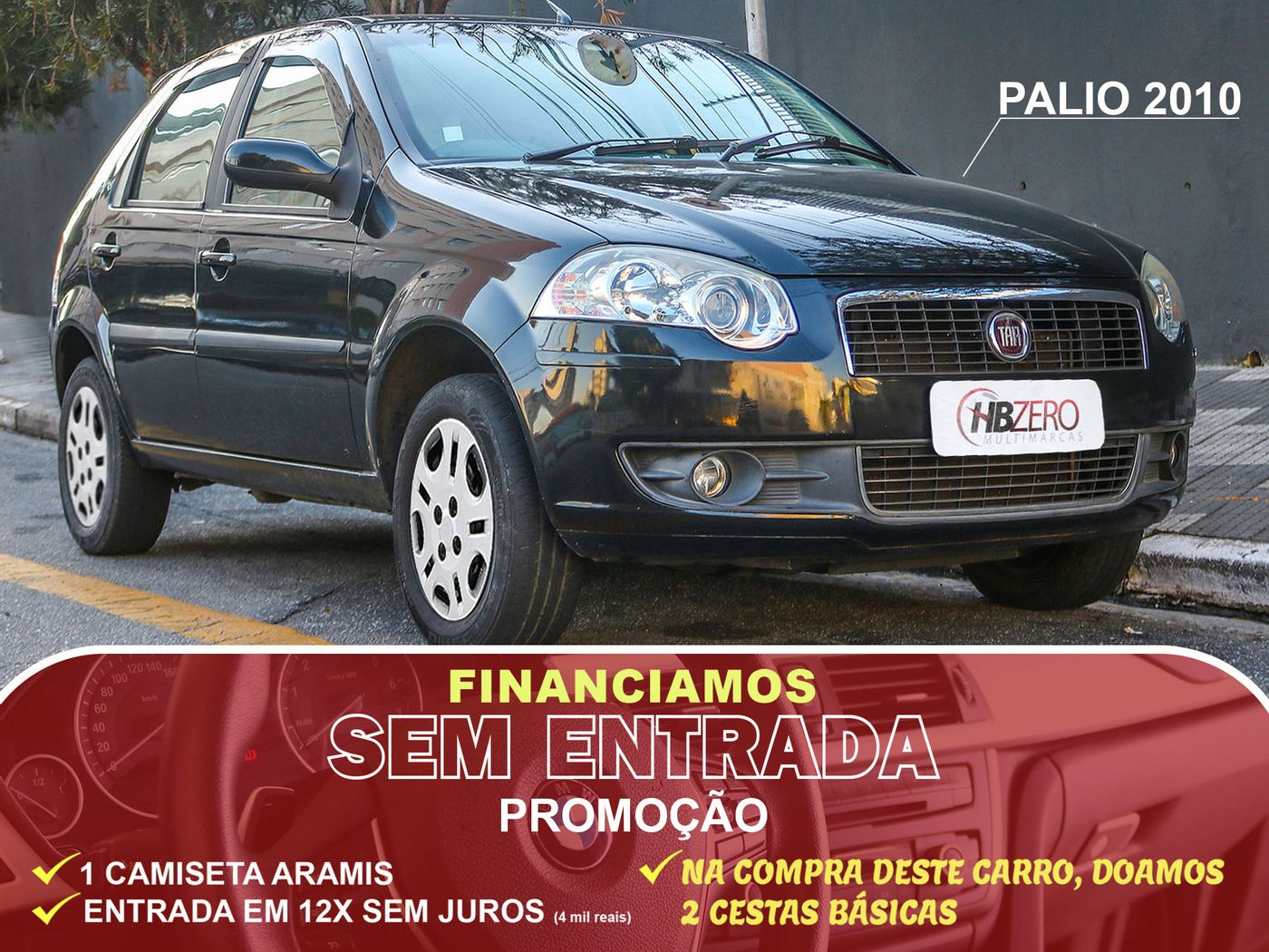 Fiat Palio ELX 1.0 Fire/30 Anos F. Flex 8V 4p