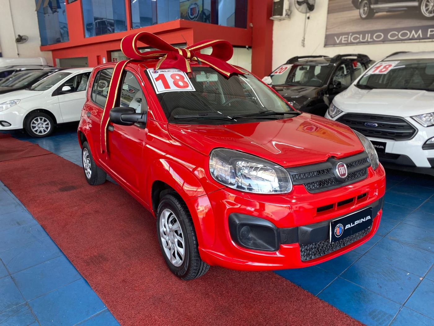 Fiat UNO DRIVE 1.0 Flex 6V 5p