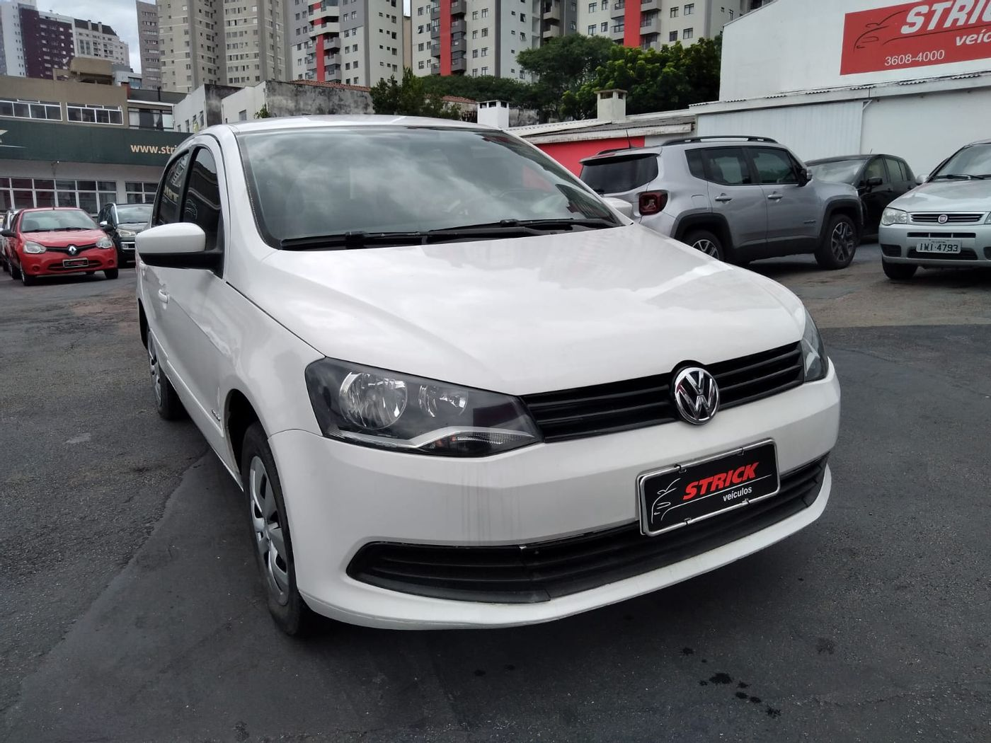 VolksWagen VOYAGE 1.6/1.6 City  Mi Total Flex 8V 4p