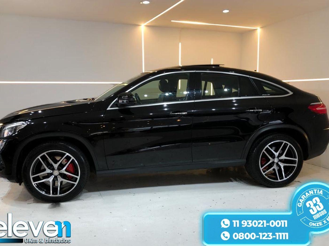 Mercedes GLE-400 Coupe 3.0 V6 333cv Aut.