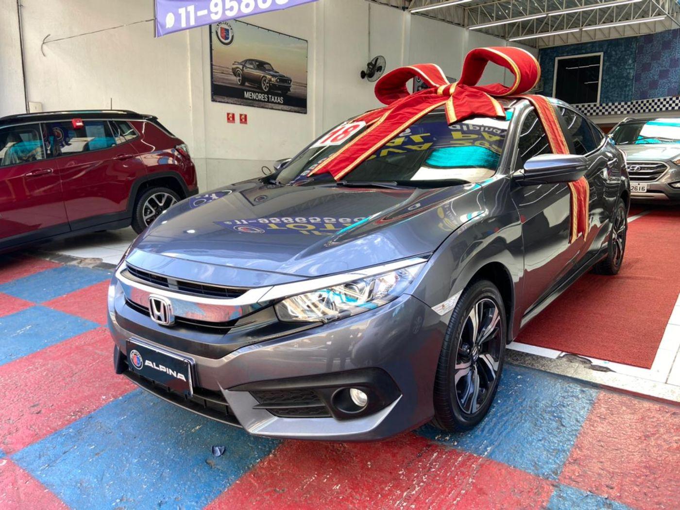Honda Civic Sedan EX 2.0 Flex 16V Aut.4p
