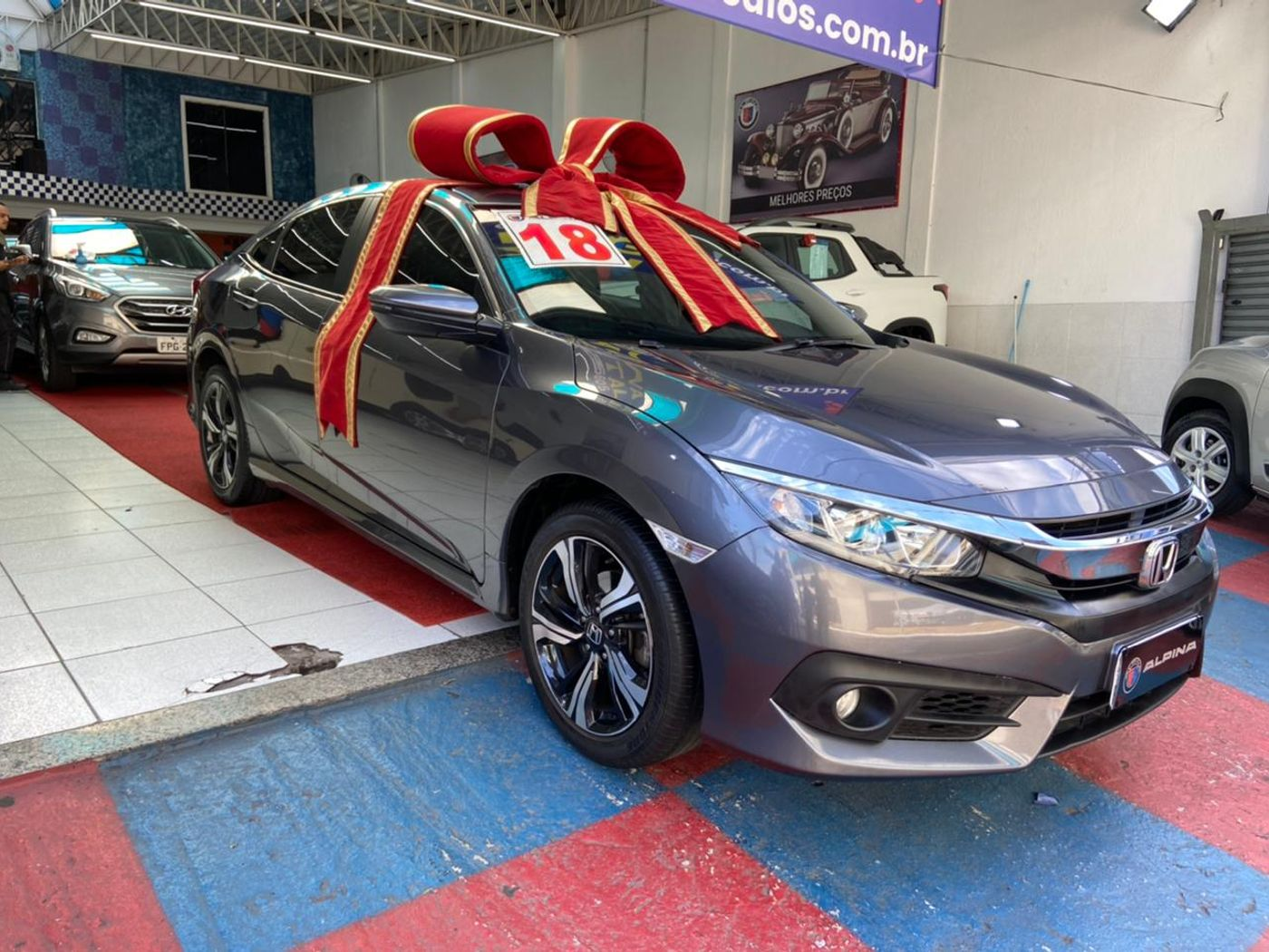 Honda Civic Sedan EX 2.0 Flex 16V Aut.4p