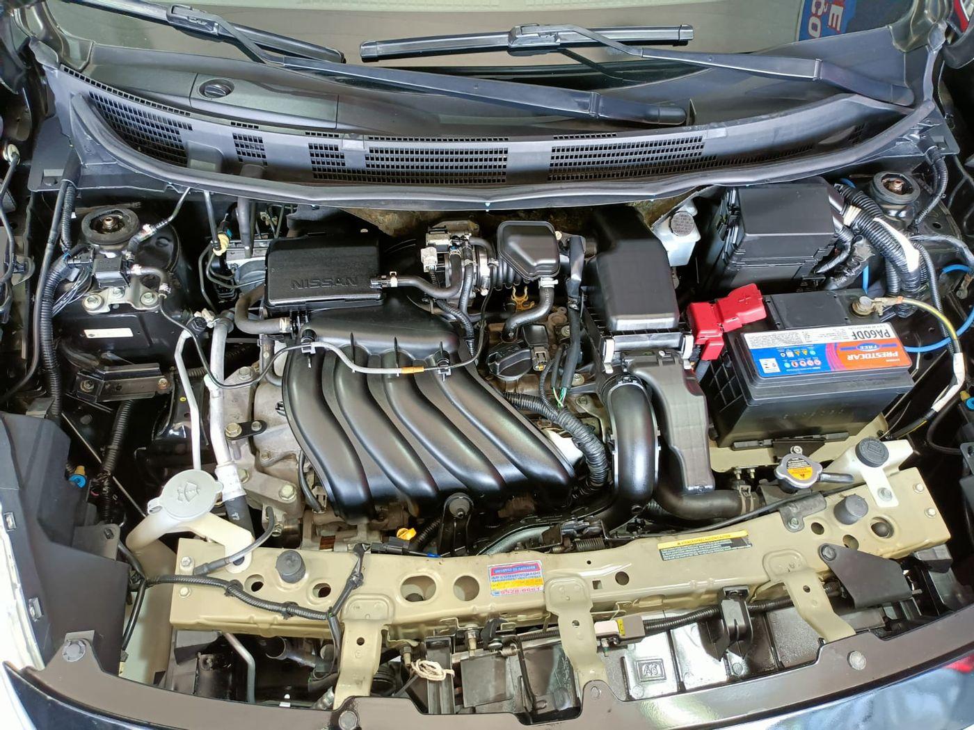 Nissan VERSA S 1.6 16V Flex Fuel 4p Mec.