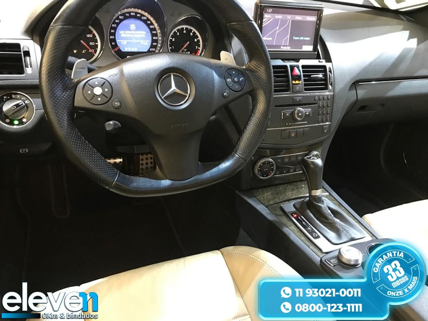 Mercedes C-63 AMG 6.2 V8 Aut.