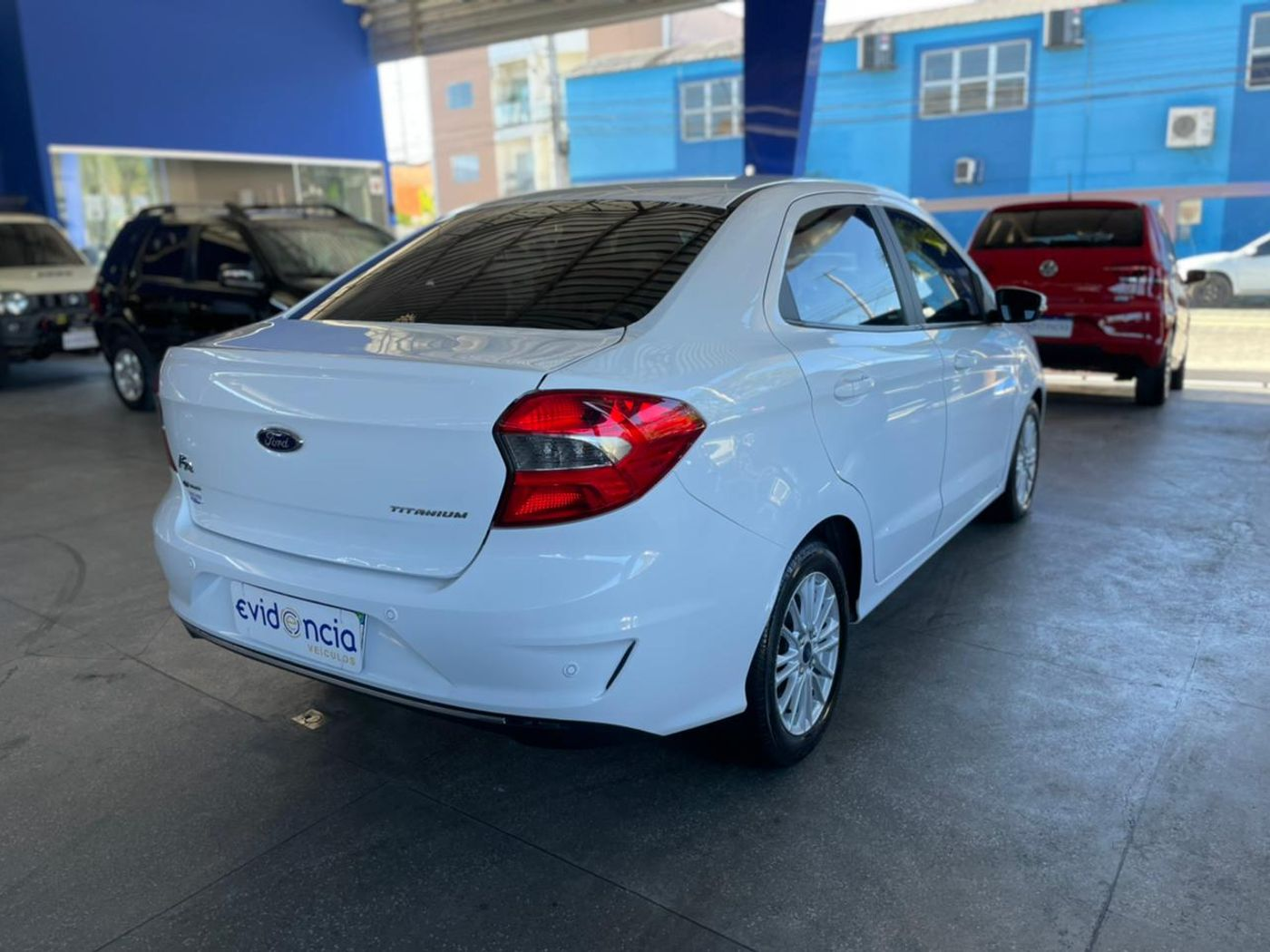Ford Ka 1.5 Sedan TITANIUM 12V Flex 4p Aut.