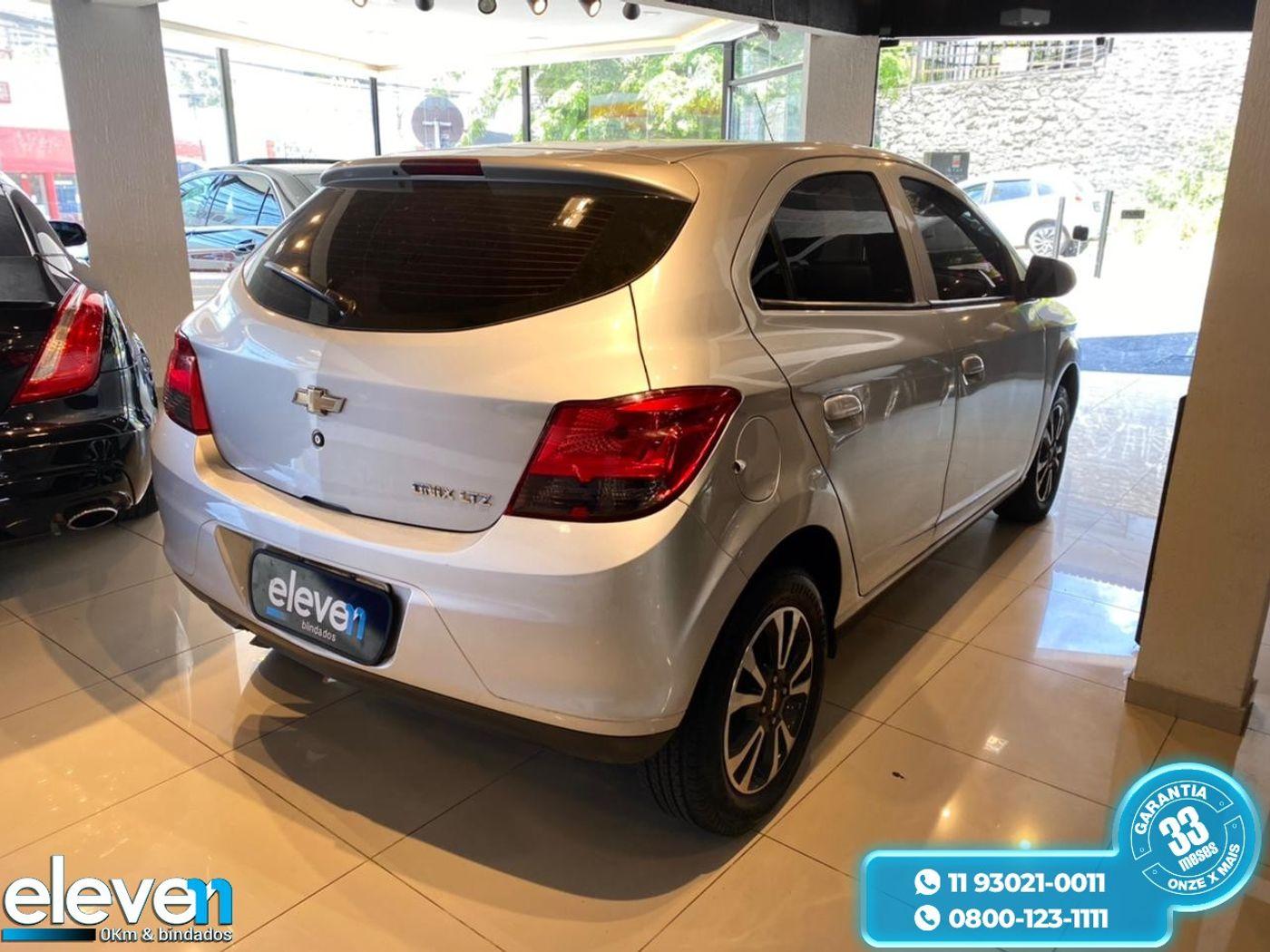 Chevrolet ONIX HATCH LTZ 1.4 8V FlexPower 5p Aut.