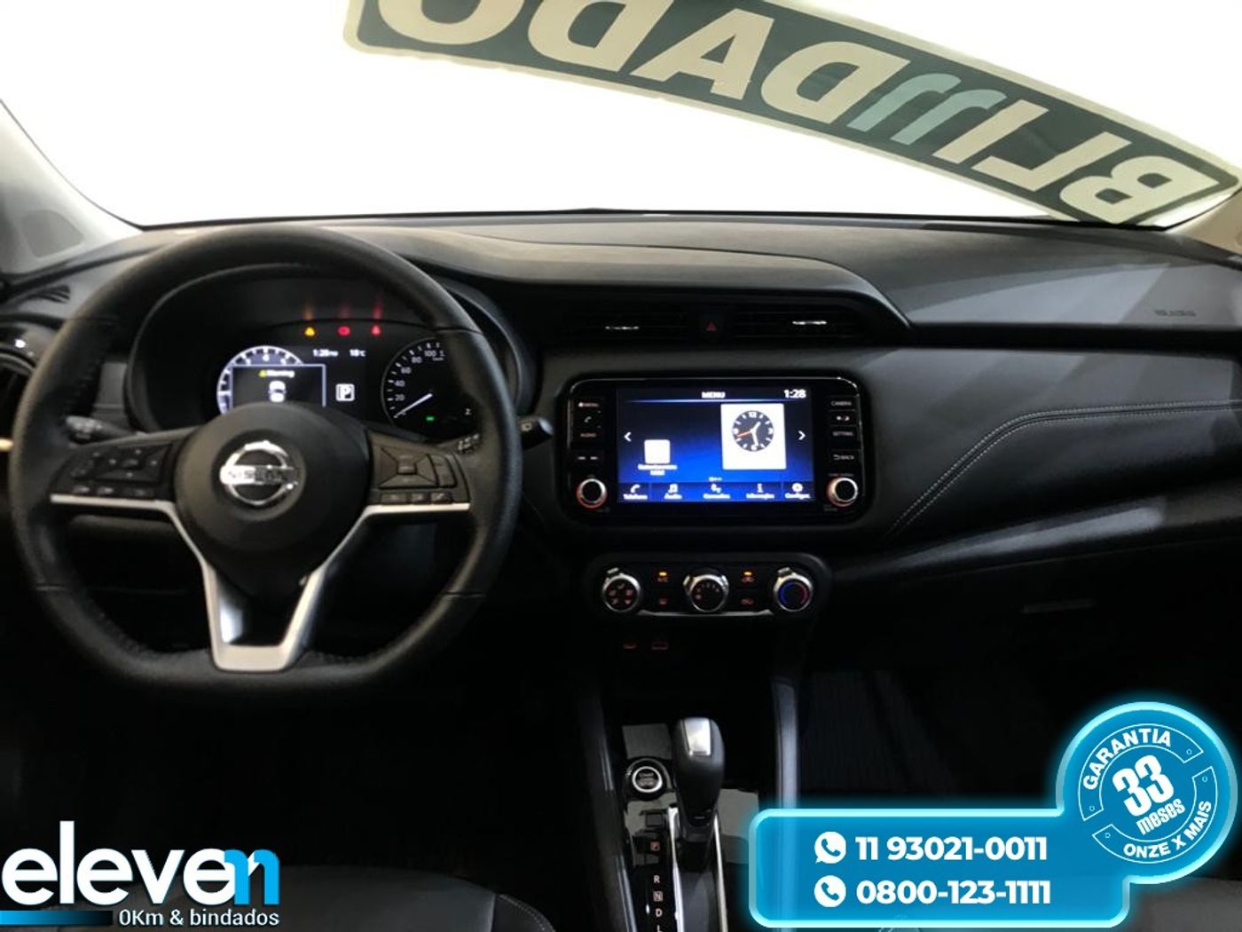 Nissan KICKS Advance 1.6 16V Flex Aut.