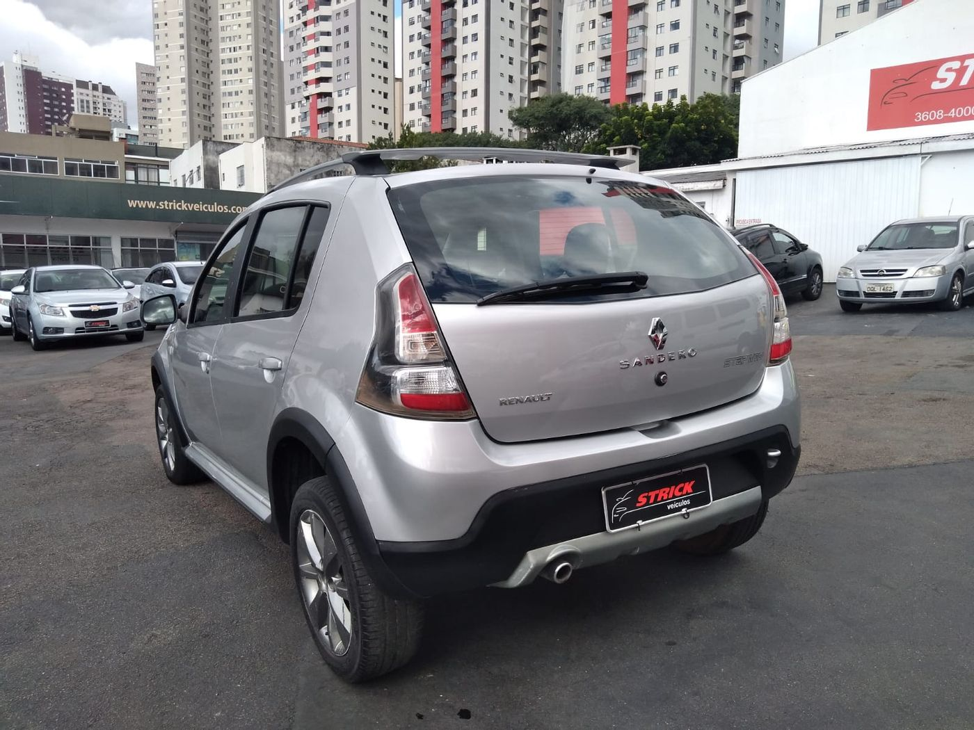 Renault SANDERO STEPWAY Hi-Flex 1.6 16V 5p Aut.