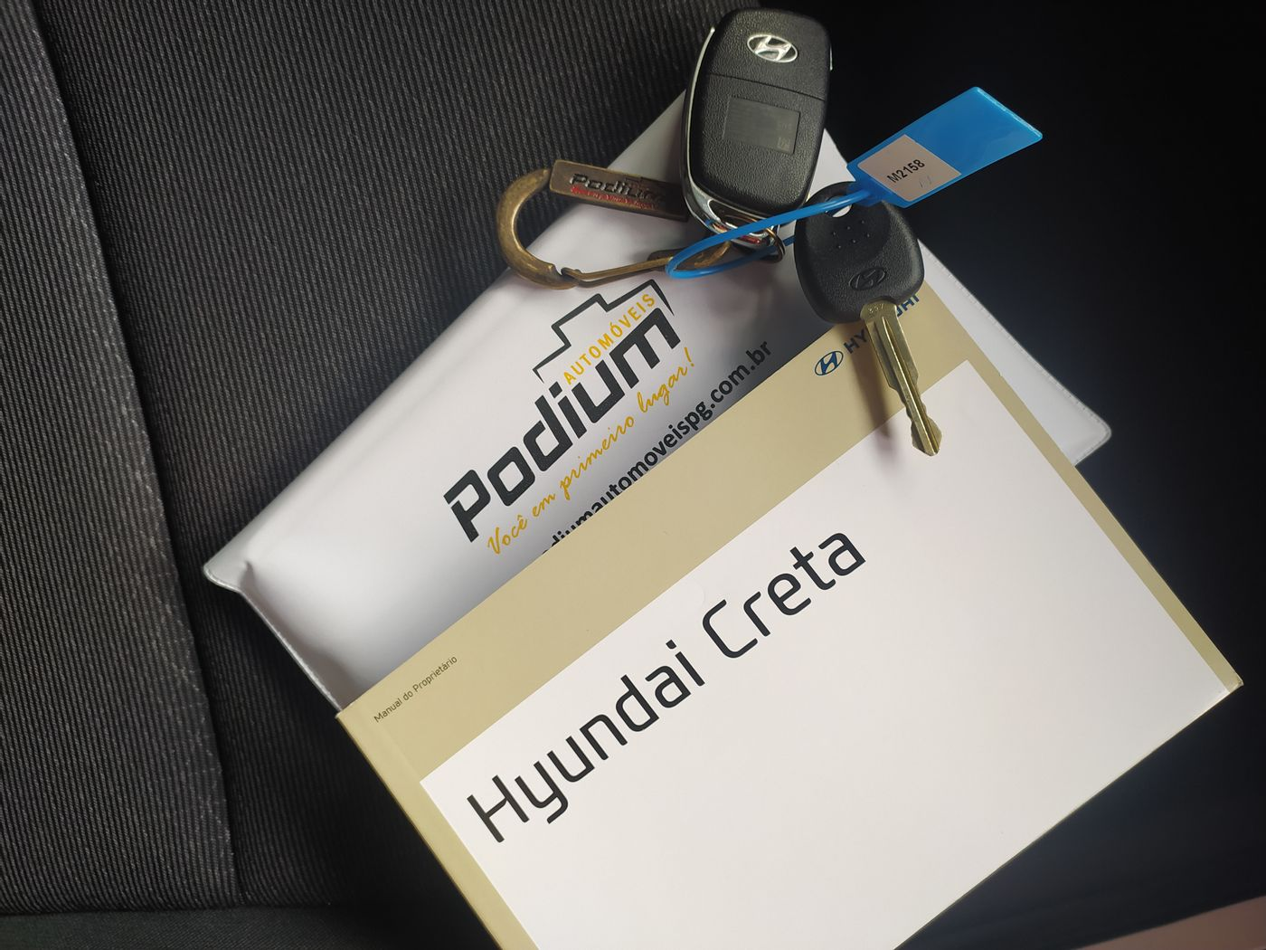 Hyundai Creta Pulse Plus 1.6 16V Flex Aut.