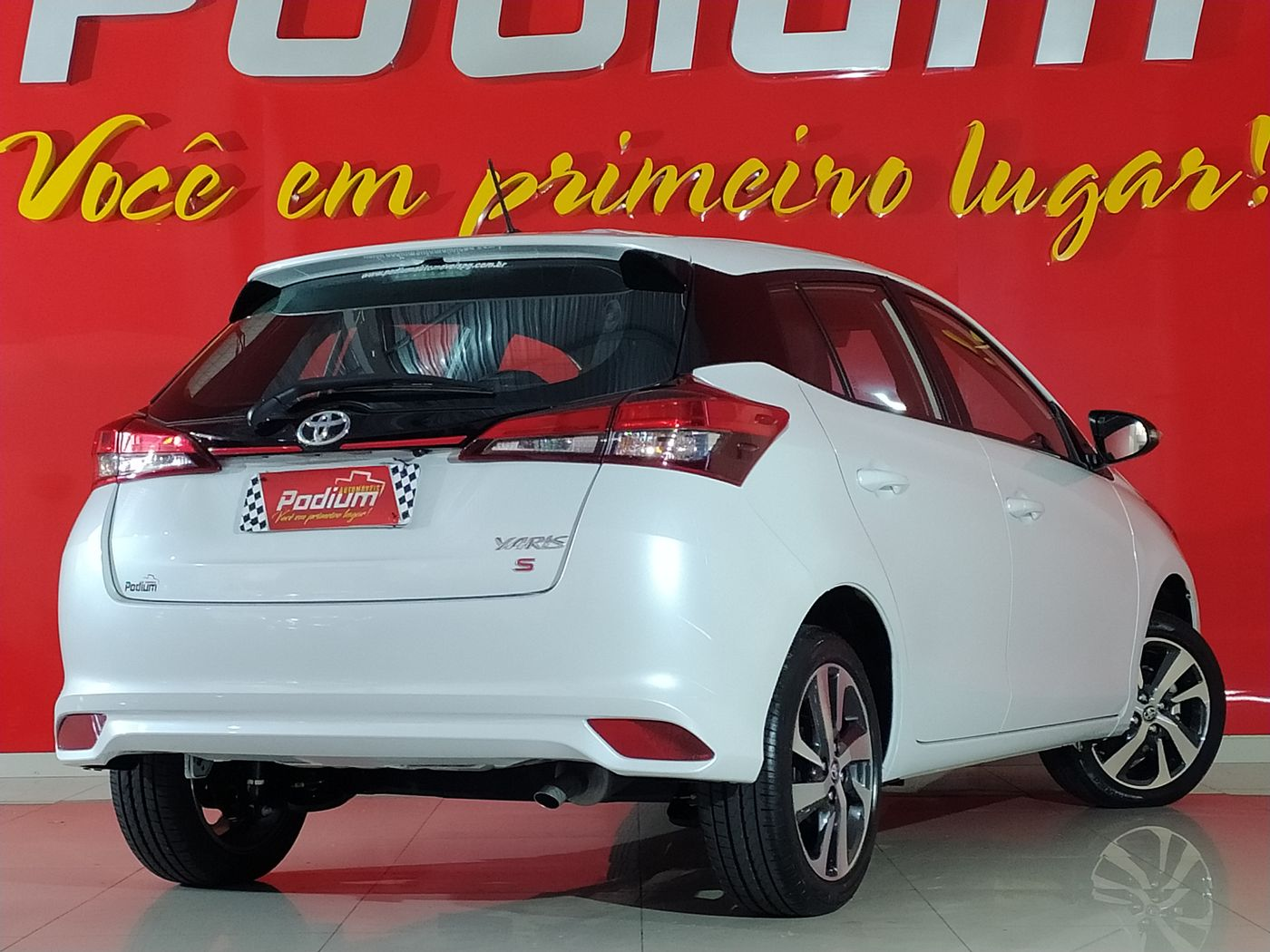 Toyota YARIS S 1.5 Flex 16V 5p Aut.