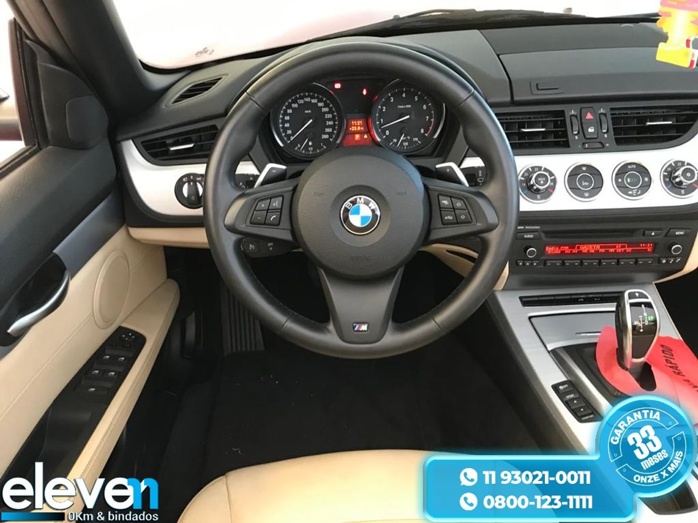 BMW Z4 Roadster sDRIVE 20i 2.0 16V 2p Aut.