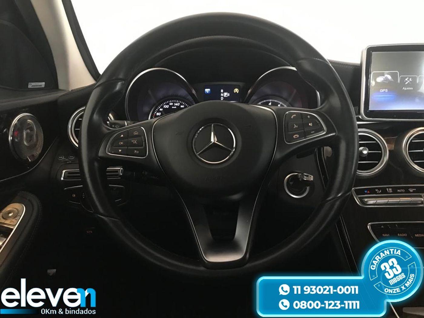 Mercedes C-180 1.6 Turbo 16V/Flex 16V Aut.