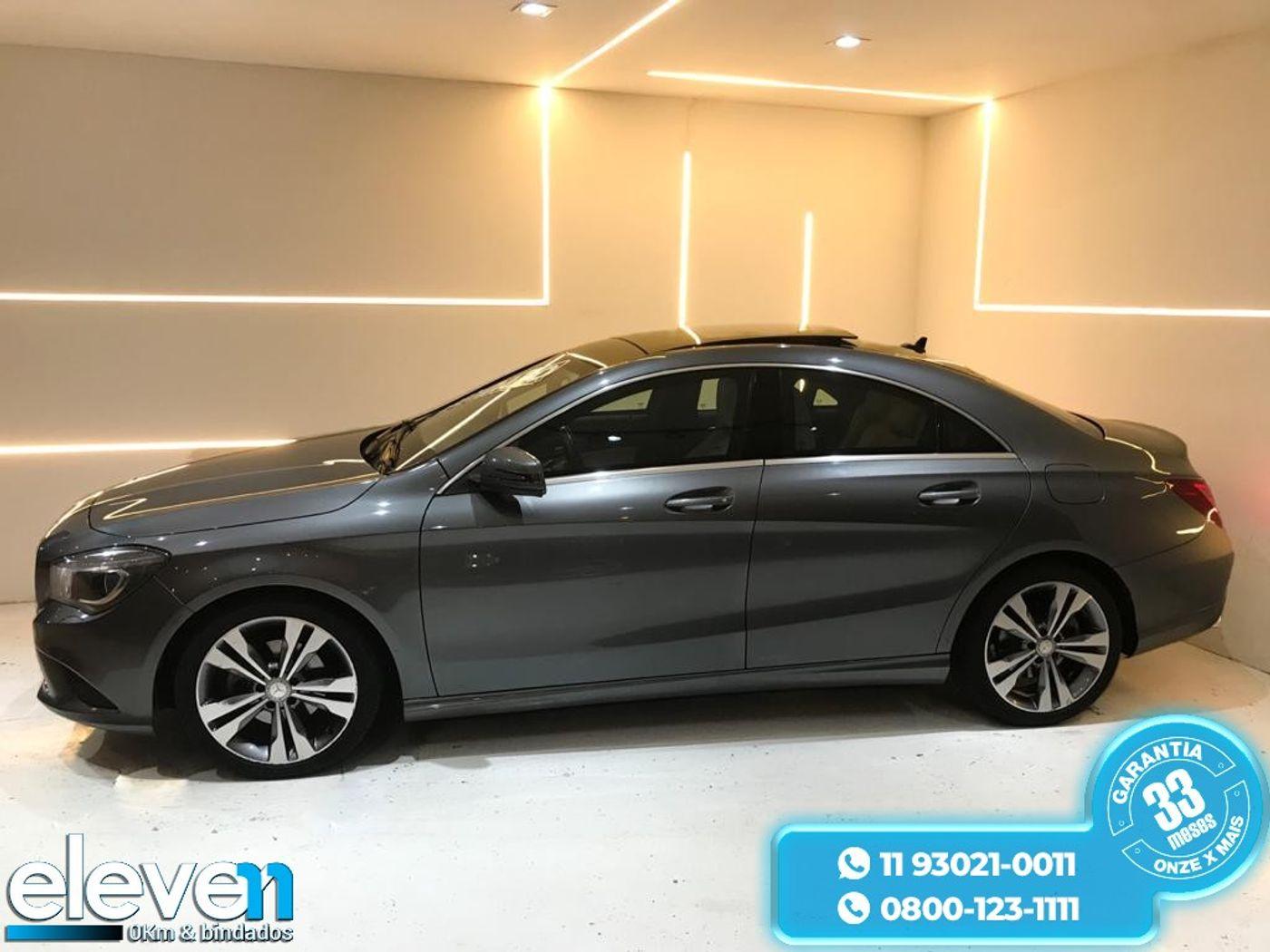 Mercedes CLA-200 First Edition 1.6 TB 16V  Aut.