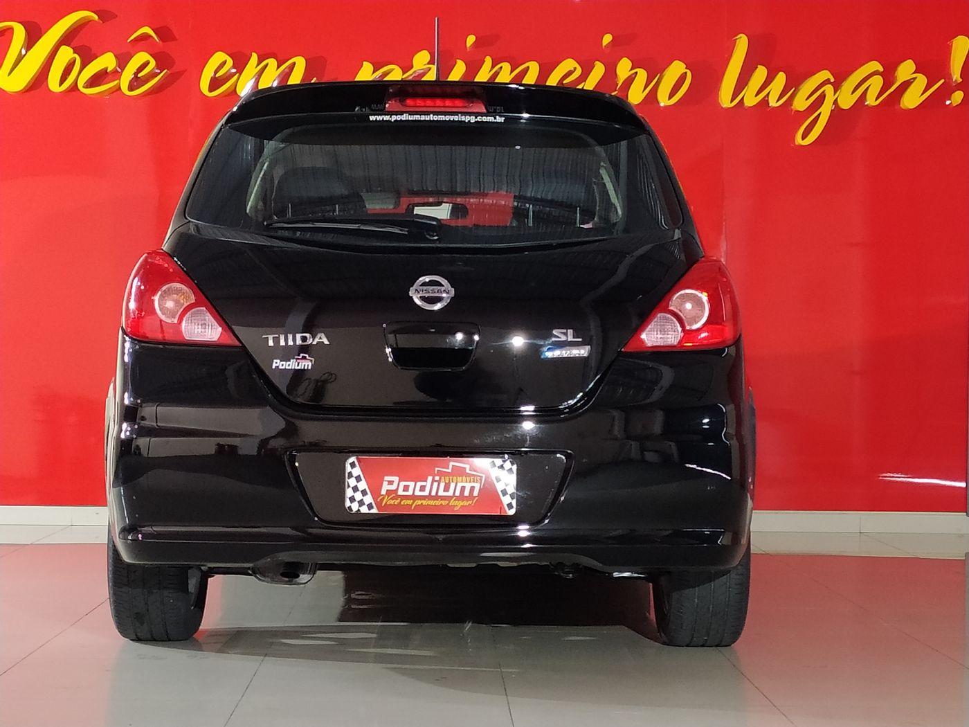Nissan TIIDA SL 1.8/1.8 Flex 16V Aut.