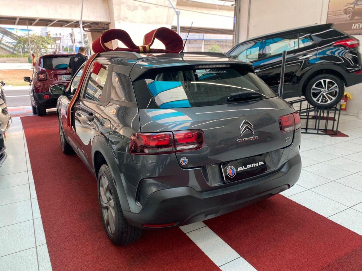Citroën C4 CACTUS FEEL 1.6 16V Flex Aut.