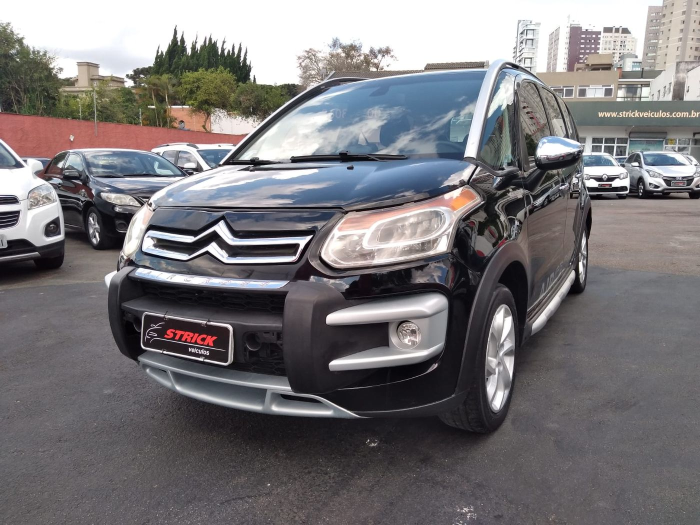 Citroën AIRCROSS Exclusive 1.6 Flex 16V 5p Aut.