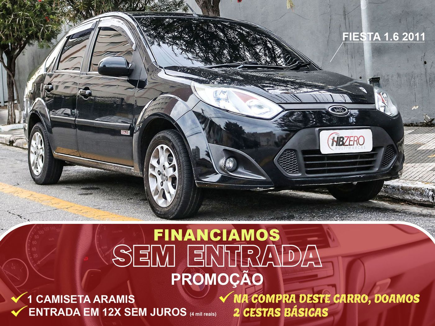Ford Fiesta Sed. 1.6 8V Flex 4p