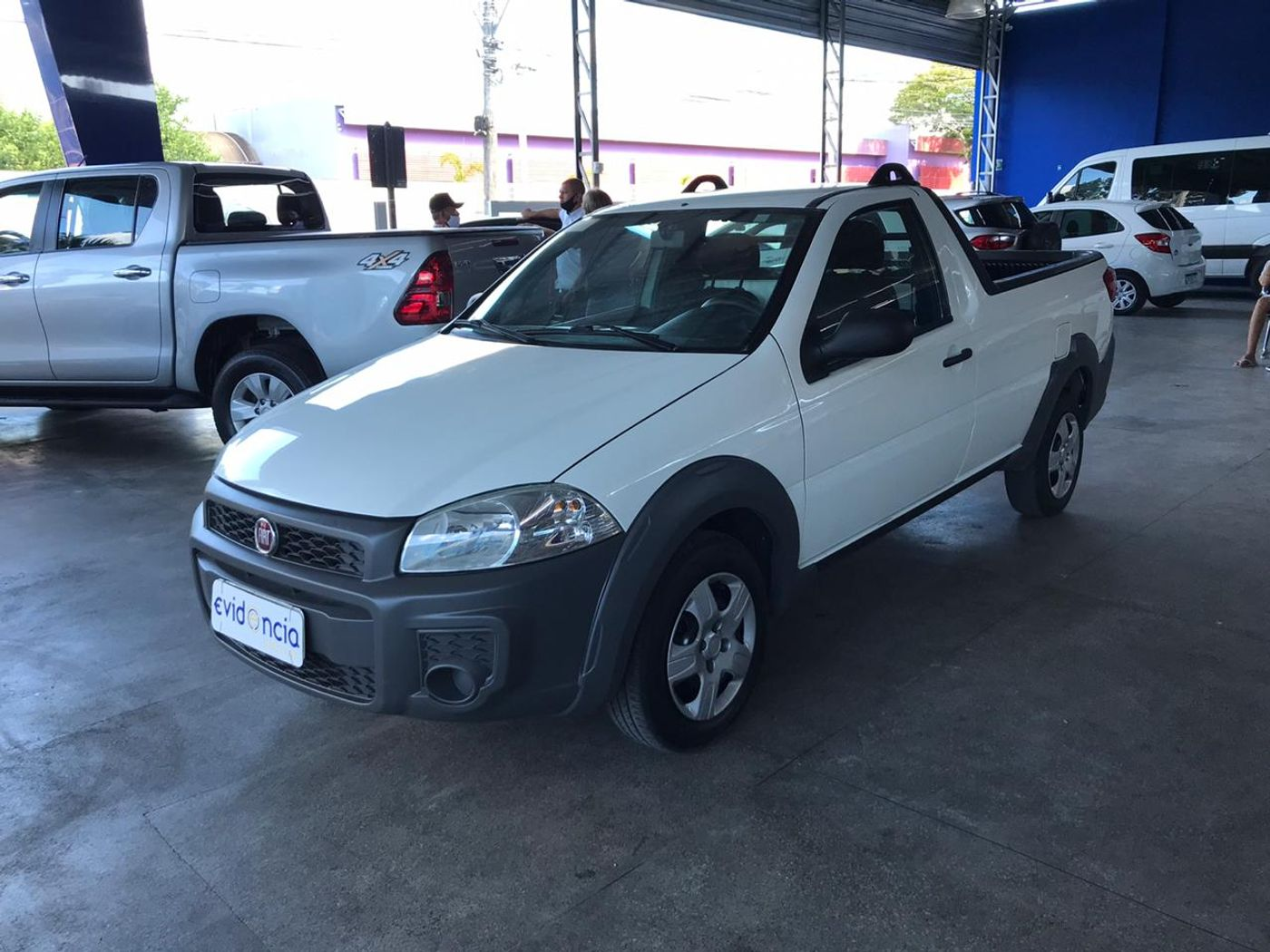 Fiat Strada Working HARD 1.4 Fire Flex 8V CS