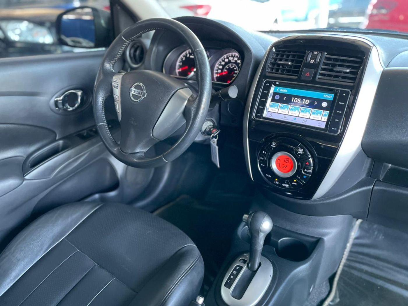 Nissan VERSA UNIQUE 1.6 16V FlexStart 4p Aut.