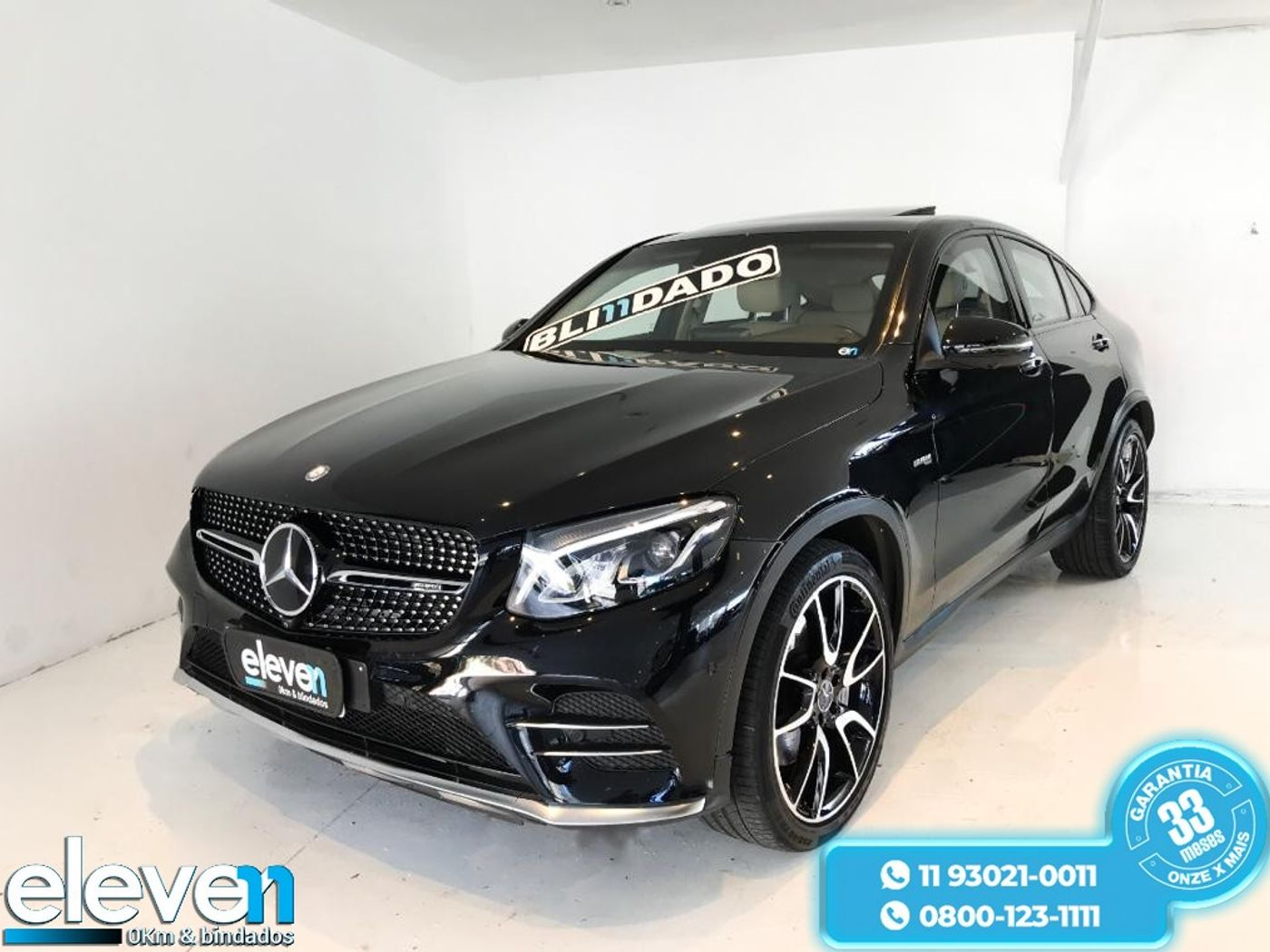 Mercedes GLC-43 AMG 4MATIC 3.0 V6 Bi-Turbo Aut.