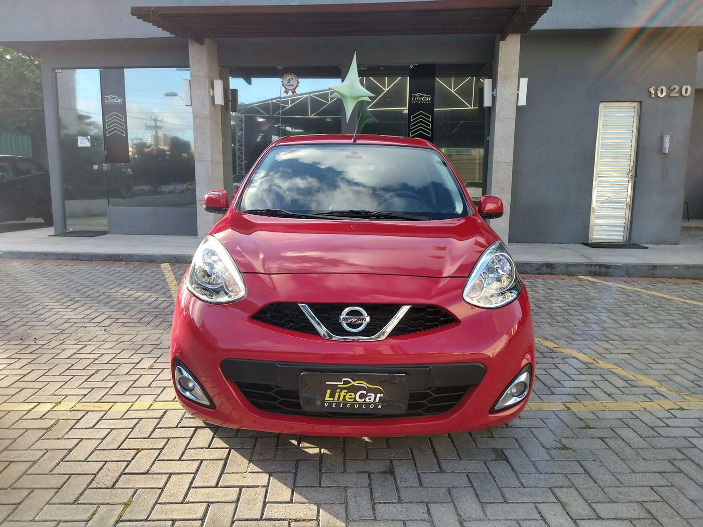 Nissan MARCH SV 1.6 16V FlexStart 5p Mec.
