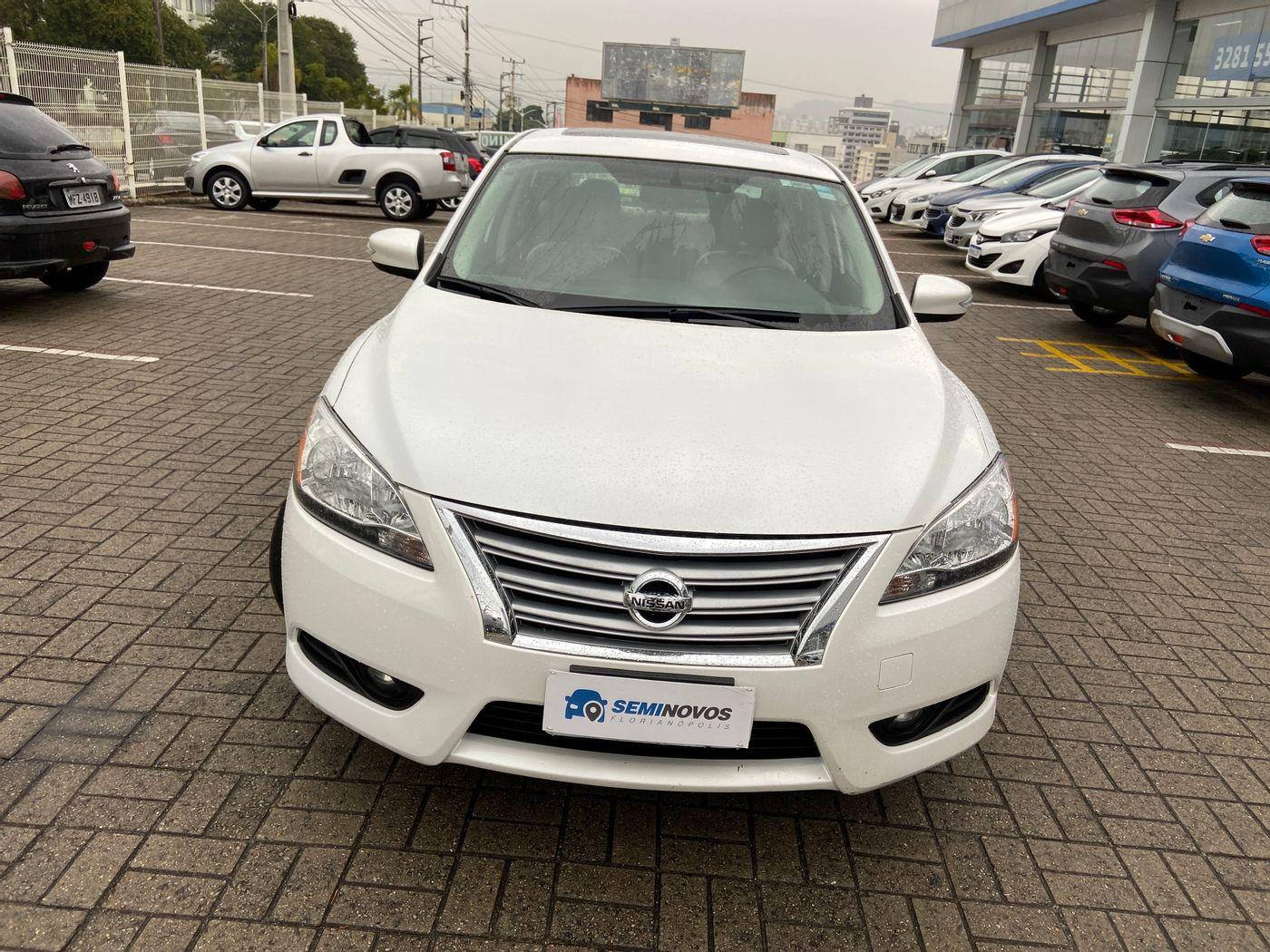 Nissan Sentra UNIQUE 2.0 Flex Fuel 16V Aut.