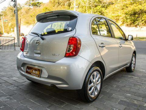 Nissan MARCH SV 1.6 16V FlexStart 5p Aut.