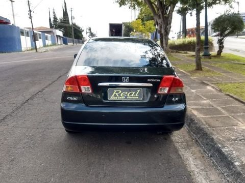 Honda Civic Sedan LX 1.7 16V 115cv Mec. 4p