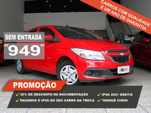 Foto do veiculo Chevrolet ONIX HATCH LT 1.0 8V FlexPower 5p Mec.