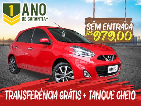 Foto do veiculo Nissan MARCH SL 1.6 16V Flex Fuel 5p