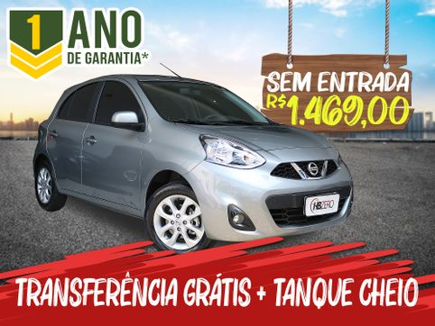 Foto do veiculo Nissan MARCH SV 1.6 16V FlexStart 5p Aut.