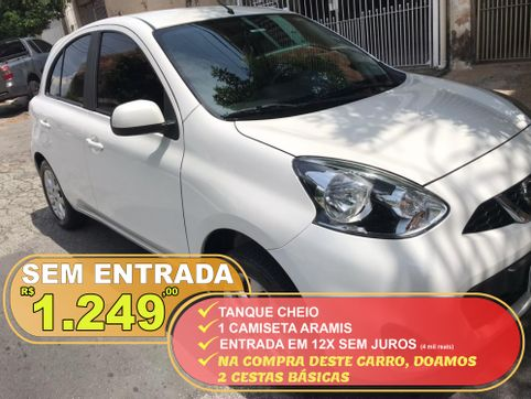 Foto do veiculo Nissan MARCH SV 1.0 12V Flex 5p