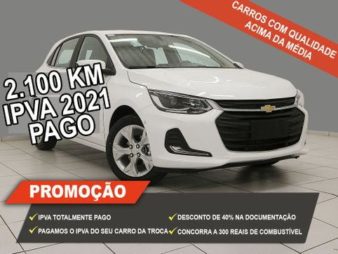 Foto do veiculo Chevrolet ONIX HATCH PREM. 1.0 12V TB Flex 5p Aut.