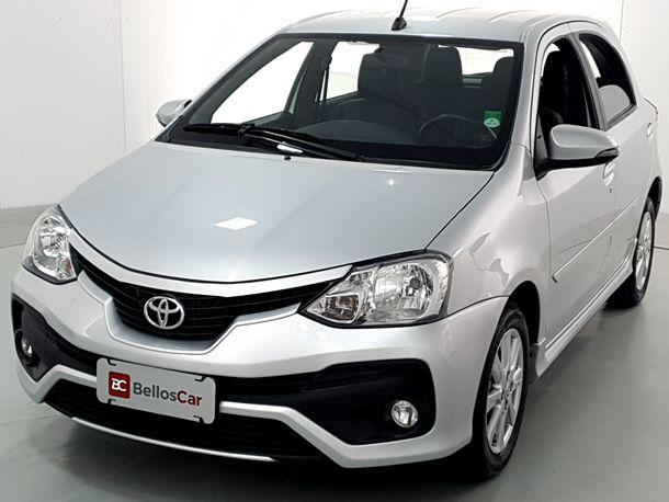 Toyota ETIOS XLS 1.5 Flex 5p Aut.