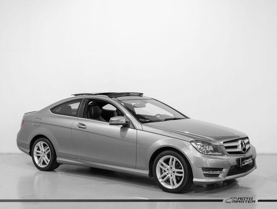 Mercedes C-180 CGI Coupe Sport 1.6 TB 16V Aut.