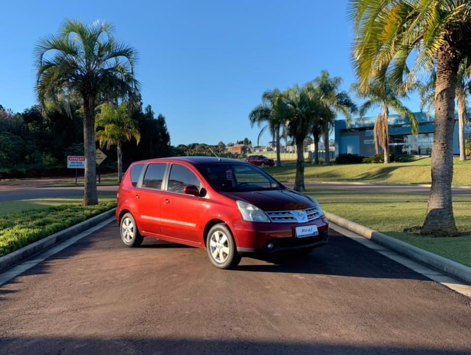Nissan LIVINA GRAND SL 1.8 16V Flex Fuel Aut.