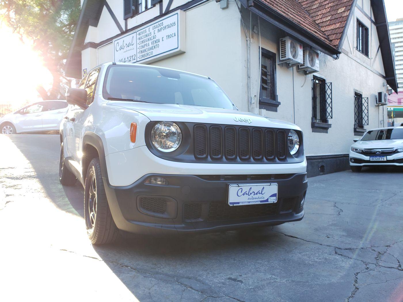 Jeep Renegade Custom 1.8 4x2 Flex 16V Mec.