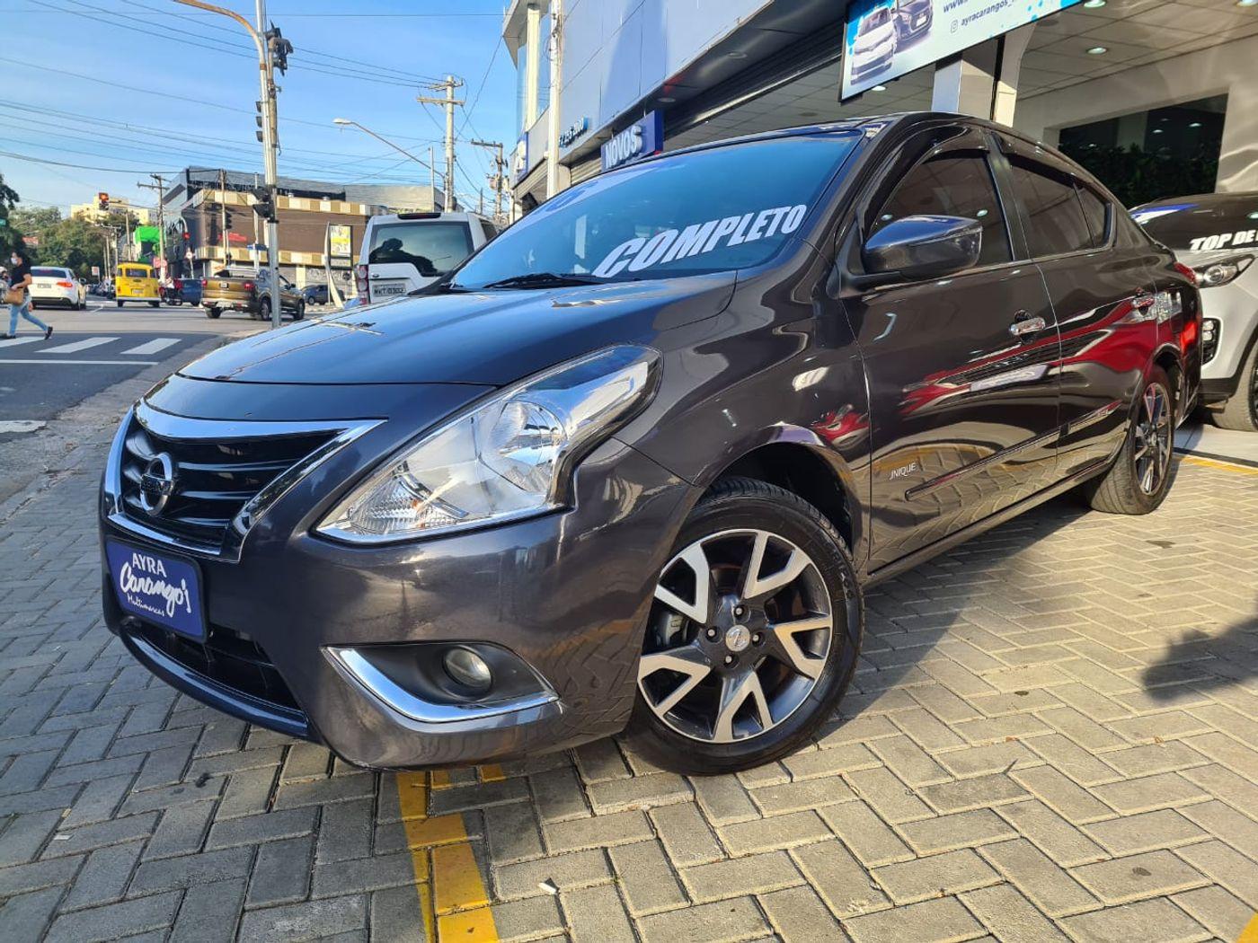 Nissan VERSA UNIQUE 1.6 16V Flex 4p Mec.