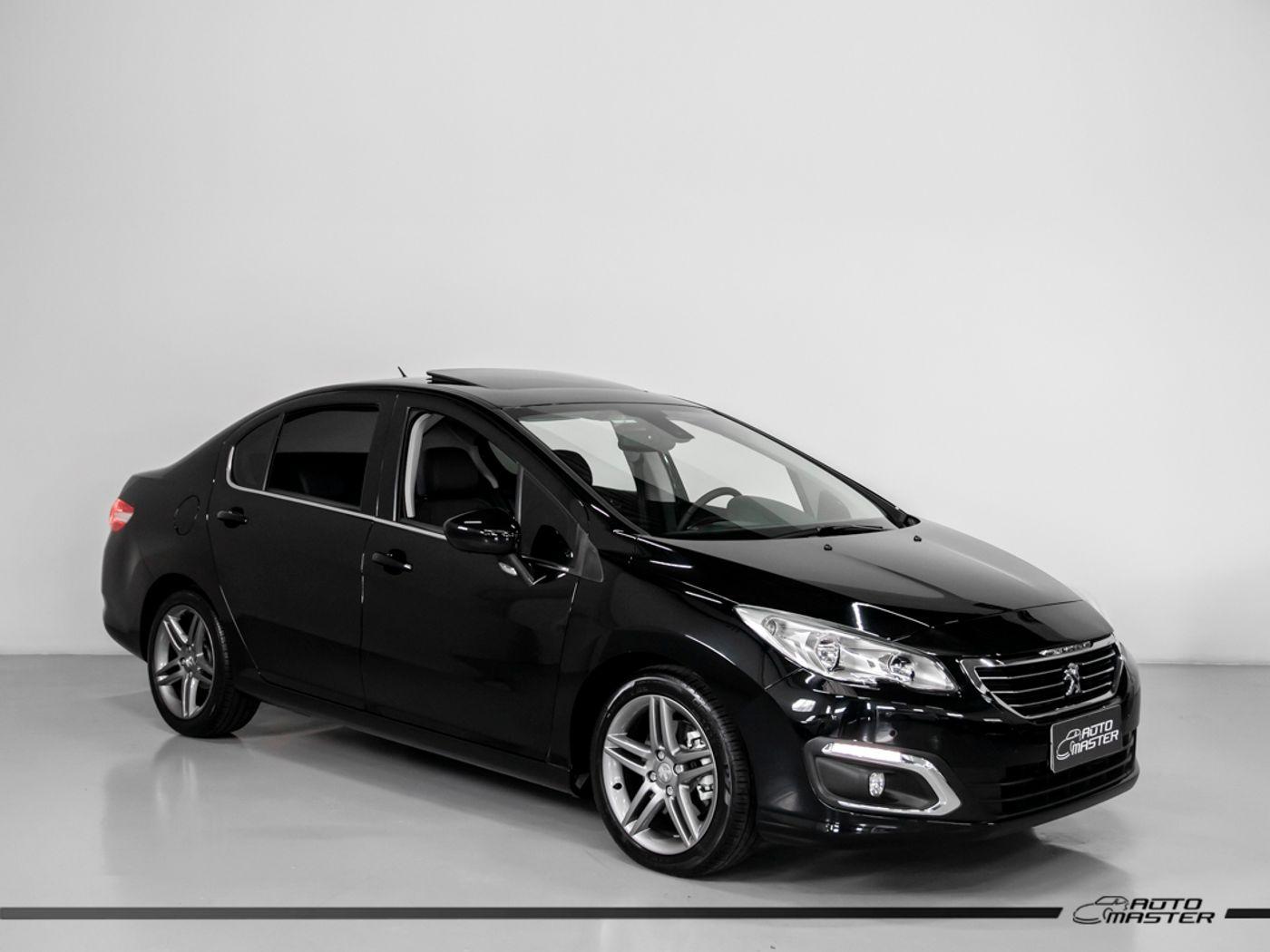 Peugeot 408 Sedan Griffe 1.6 TB Flex 16V 4p Aut.