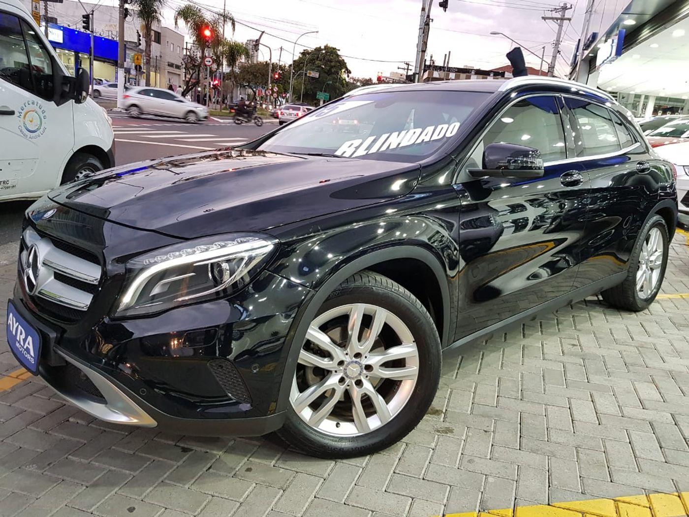 Mercedes GLA 200 Adv. 1.6/1.6 TB 16V Flex  Aut.