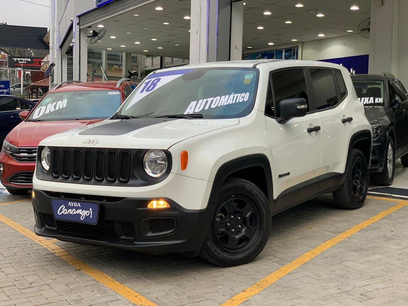 Jeep Renegade1.8 4x2 Flex 16V Aut.(PCD)