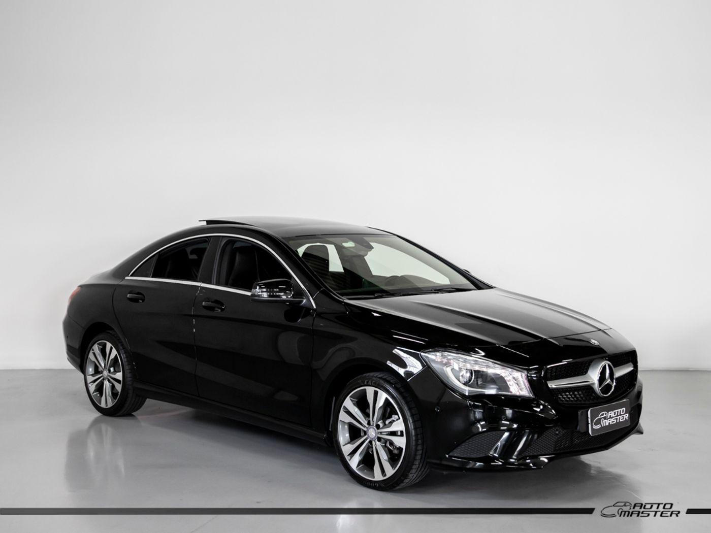 Mercedes CLA-200 Vision 1.6 TB 16V Flex Aut.