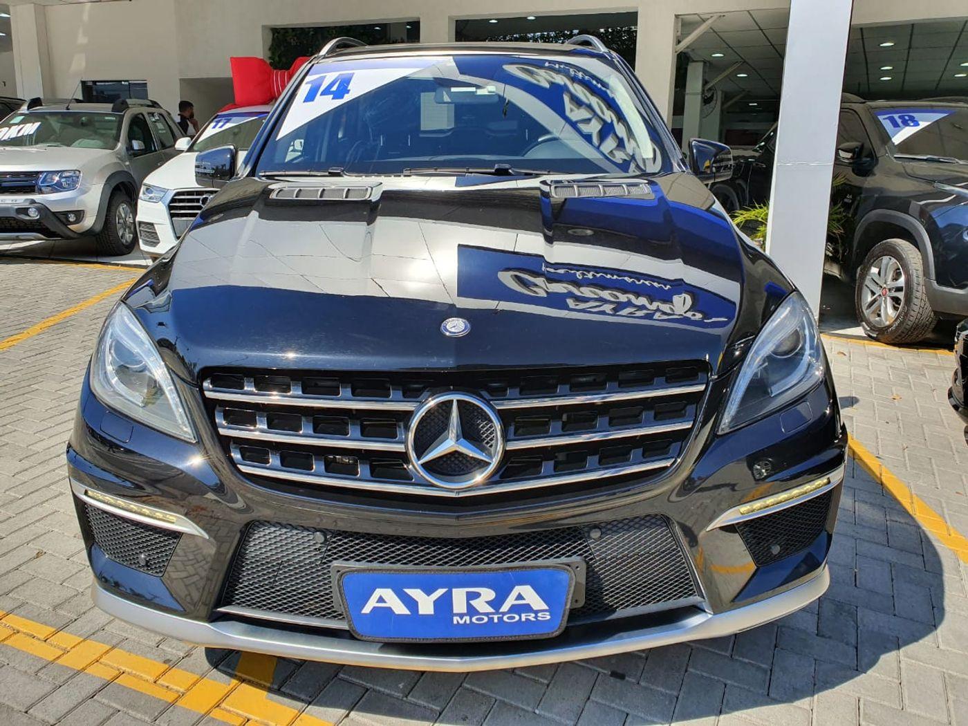 Mercedes ML-63 AMG 5.5 V8 Bi-Turbo Aut.