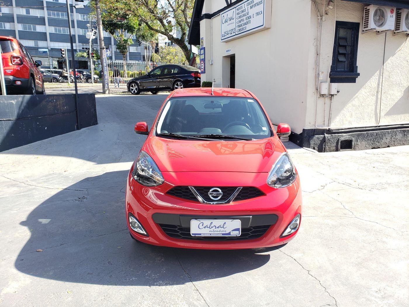Nissan MARCH SL 1.6 16V FlexStart 5p Aut.